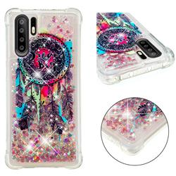 Seal Wind Chimes Dynamic Liquid Glitter Sand Quicksand Star TPU Case for Huawei P30 Pro