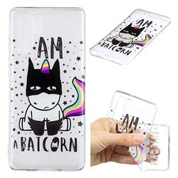 Batman Clear Varnish Soft Phone Back Cover for Huawei P30 Pro