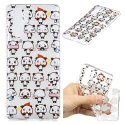 Mini Panda Clear Varnish Soft Phone Back Cover for Huawei P30 Pro