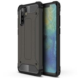 King Kong Armor Premium Shockproof Dual Layer Rugged Hard Cover for Huawei P30 Pro - Bronze