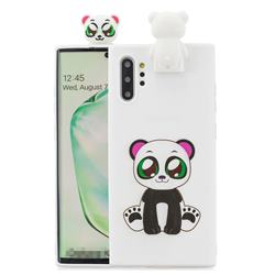 Panda Soft 3D Climbing Doll Stand Soft Case for Huawei P30 Pro