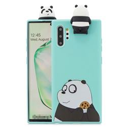 Striped Bear Soft 3D Climbing Doll Stand Soft Case for Huawei P30 Pro