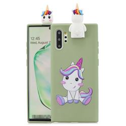 Cute Unicorn Soft 3D Climbing Doll Stand Soft Case for Huawei P30 Pro