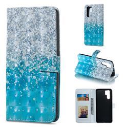 Sea Sand 3D Painted Leather Phone Wallet Case for Huawei P30 Pro