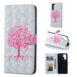 Sakura Flower Tree 3D Painted Leather Phone Wallet Case for Huawei P30 Pro