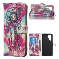 Butterfly Chimes PU Leather Wallet Case for Huawei P30 Pro