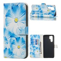 Orchid Flower PU Leather Wallet Case for Huawei P30 Pro