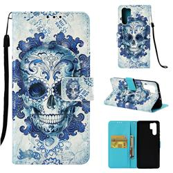 Cloud Kito 3D Painted Leather Wallet Case for Huawei P30 Pro