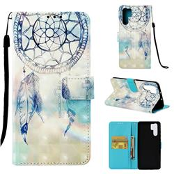 Fantasy Campanula 3D Painted Leather Wallet Case for Huawei P30 Pro