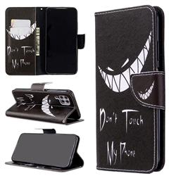Crooked Grin Leather Wallet Case for Huawei P40 Lite
