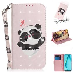 Heart Cat 3D Painted Leather Wallet Phone Case for Huawei P40 Lite