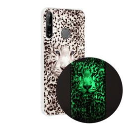 Leopard Tiger Noctilucent Soft TPU Back Cover for Huawei P40 Lite E