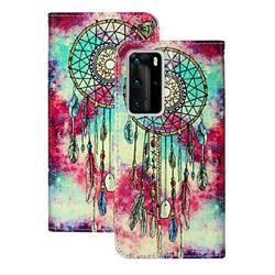 Butterfly Chimes PU Leather Wallet Case for Huawei P40 Pro