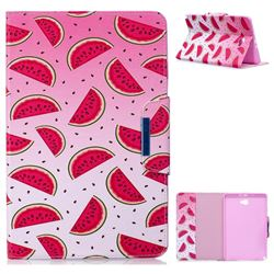 Watermelon Folio Flip Stand Leather Wallet Case for Samsung Galaxy Tab A 10.1 with S-Pen P580 P585