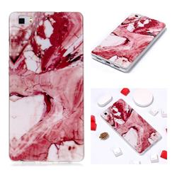 Pork Belly Soft TPU Marble Pattern Phone Case for Huawei P8 Lite P8lite