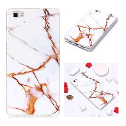 Platinum Soft TPU Marble Pattern Phone Case for Huawei P8 Lite P8lite