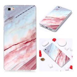 Elegant Soft TPU Marble Pattern Phone Case for Huawei P8 Lite P8lite