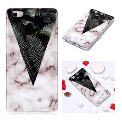 Leaf Soft TPU Marble Pattern Phone Case for Huawei P8 Lite P8lite