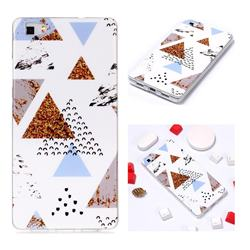 Hill Soft TPU Marble Pattern Phone Case for Huawei P8 Lite P8lite