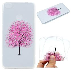Petals Tree Super Clear Soft TPU Back Cover for Huawei P8 Lite 2017 / P9 Honor 8 Nova Lite