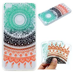 Tribe Flower Super Clear Soft TPU Back Cover for Huawei P8 Lite 2017 / P9 Honor 8 Nova Lite