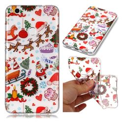 Christmas Playground Super Clear Soft TPU Back Cover for Huawei P8 Lite 2017 / P9 Honor 8 Nova Lite