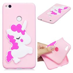 Pony Soft 3D Silicone Case for Huawei P8 Lite 2017 / P9 Honor 8 Nova Lite