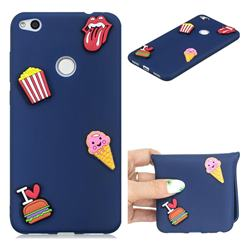 I Love Hamburger Soft 3D Silicone Case for Huawei P8 Lite 2017 / P9 Honor 8 Nova Lite