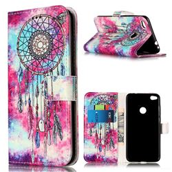 Butterfly Chimes PU Leather Wallet Case for Huawei P8 Lite 2017 / Honor 8 Lite / Nova Lite / P9 Lite 2017
