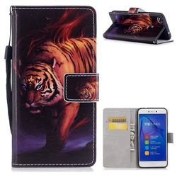 Mighty Tiger PU Leather Wallet Case for Huawei P8 Lite 2017 / P9 Honor 8 Nova Lite