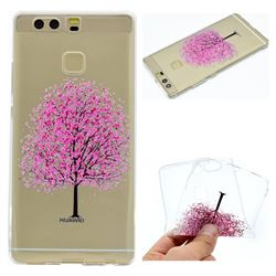 Petals Tree Super Clear Soft TPU Back Cover for Huawei P9