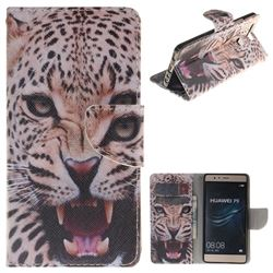 Puma PU Leather Wallet Case for Huawei P9