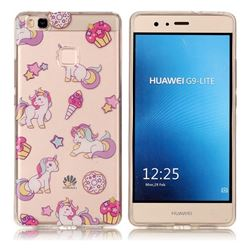 Unicorn Super Clear Soft TPU Back Cover for Huawei P9 Lite G9 Lite