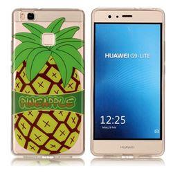 Big Pineapple Super Clear Soft TPU Back Cover for Huawei P9 Lite G9 Lite