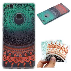 Tribe Flower Super Clear Soft TPU Back Cover for Huawei P9 Lite G9 Lite