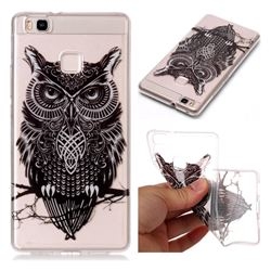 Staring Owl Super Clear Soft TPU Back Cover for Huawei P9 Lite G9 Lite