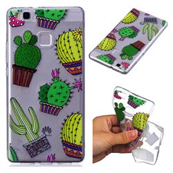Cactus Ball Super Clear Soft TPU Back Cover for Huawei P9 Lite G9 Lite