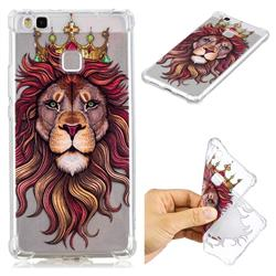 Lion King Anti-fall Clear Varnish Soft TPU Back Cover for Huawei P9 Lite G9 Lite
