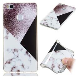 Black white Grey Soft TPU Marble Pattern Phone Case for Huawei P9 Lite G9 Lite