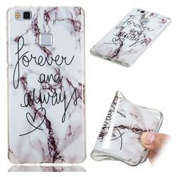 Forever Soft TPU Marble Pattern Phone Case for Huawei P9 Lite G9 Lite