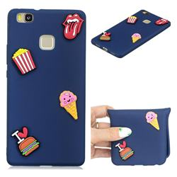 I Love Hamburger Soft 3D Silicone Case for Huawei P9 Lite G9 Lite