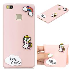 Kiss me Pony Soft 3D Silicone Case for Huawei P9 Lite G9 Lite