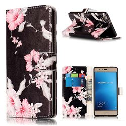 Azalea Flower PU Leather Wallet Case for Huawei P9 Lite P9lite