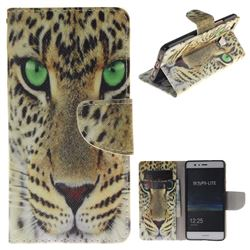 Yellow Tiger PU Leather Wallet Case for Huawei P9 Lite G9 Lite