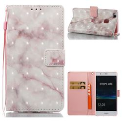 Beige Marble 3D Painted Leather Wallet Case for Huawei P9 Lite G9 Lite