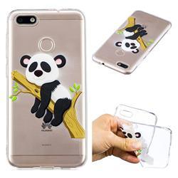 Tree Panda Super Clear Soft TPU Back Cover for Huawei P9 Lite Mini (Y6 Pro 2017)