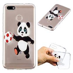 Football Panda Super Clear Soft TPU Back Cover for Huawei P9 Lite Mini (Y6 Pro 2017)