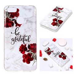 Rose Soft TPU Marble Pattern Phone Case for Huawei P9 Lite Mini (Y6 Pro 2017)