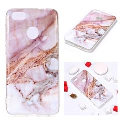 Classic Powder Soft TPU Marble Pattern Phone Case for Huawei P9 Lite Mini (Y6 Pro 2017)
