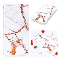 Platinum Soft TPU Marble Pattern Phone Case for Huawei P9 Lite Mini (Y6 Pro 2017)